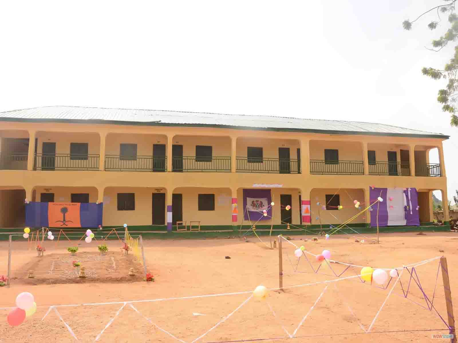 New Class Block with Library & ICT Center